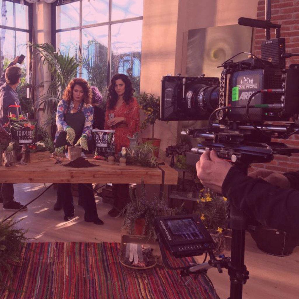 CJ per Triplo Terricci e Concimi (Tercomposti) con il suo spot telepromozione prodotto da Publitalia in onda durante le puntate di Melaverde su Canale 5.